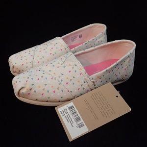 Toms Funfetti Classic Shoes 6 - NIB